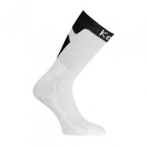 Calcetines Kempa Tribute - Blanco y Negro